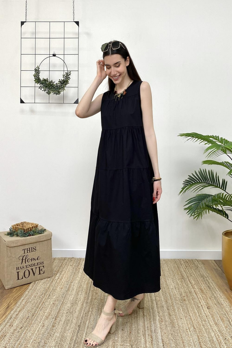 Kat Kat Uzun Elbise