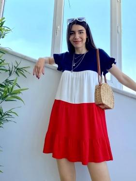 Viskon Kırmızı Elbise