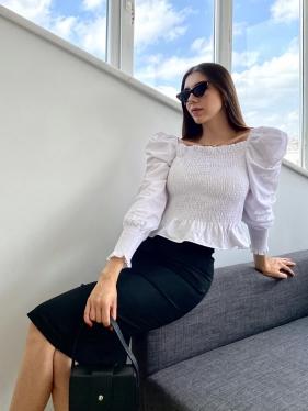 Gipeli Beyaz Bluz