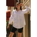 Beyaz Cepli Gömlek