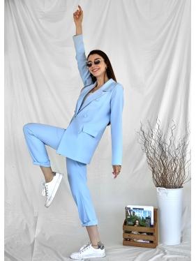 Bebe Mavi Pantolon Ceket Takım